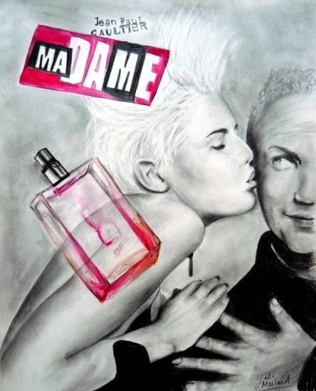 Jean-Paul Gaultier, Agyness Deyn by Julie
